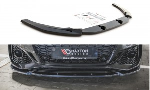 Splitter przedni V2 Audi RS5 F5 Facelift (carbon look)