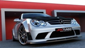 Bodykit i maska Mercedes CLK W209 Black Series Look