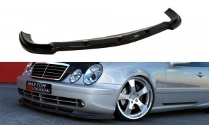 Splitter przedni Mercedes CLK W208 (do W208 AMG) (carbon look)
