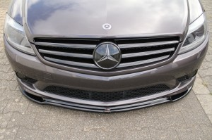 Przedni splitter Mercedes CL 500 C216 AMG-Line (carbon look)